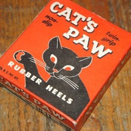 CAT'S PAW - CAT'S PAW RUBBER HEELS