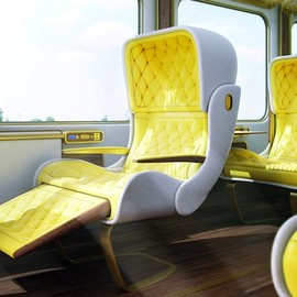 Christopher Jenner - New Eurostar Seats, London-Paris Train