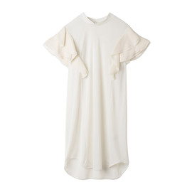 mame - French Sleeve High-Necked Dress