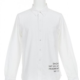 sacai, fragment design - Sacai X Fragment Design Shirt