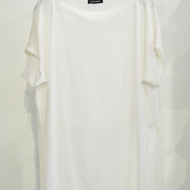 DAMIR DOMA - Straight Neck Top with Cropped Back