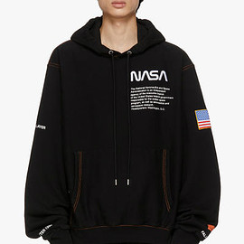 Heron Preston, SSENSE, NASA - NASA Edition Hoodie - Black