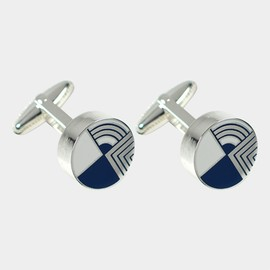 Frank Lloyd Wright - ACME Round Gifts Cufflinks