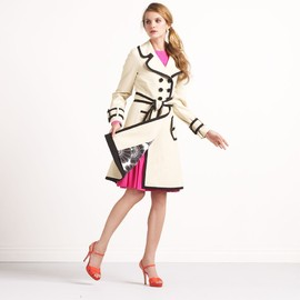 kate spade NEW YORK - CENTER STAGE TOPLINER TRENCH