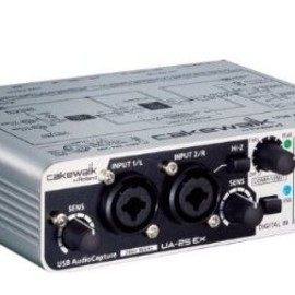 EDIROL - 24-bit USB Audio Capture UA-25EXCW