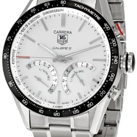 TAG Heuer - TAG Heuer Men's THCV7A13BA0795 Carrera Silver Dial Watch