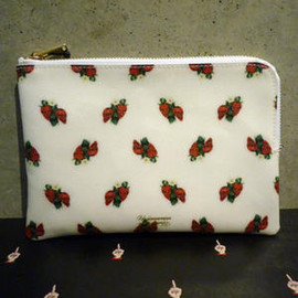 undercover - PVC総柄 SKULLBERRY POUCH