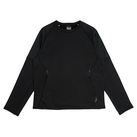 N.HOOLYWOOD, Mountain Hardwear - City Dwellers L/S Round Neck - Black