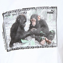 Puma - Wilderness Collection - Vintage Monkey Tee in White