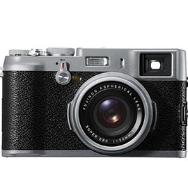 FUJI - Fujifilm X100S 16 MP Digital Camera with 2.8-Inch LCD (Silver) (OLD MODEL)