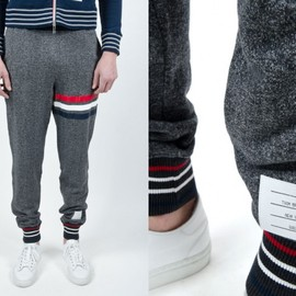 Thom Browne - Cotton Knit Sweatpants