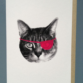 Fancy Seeing You Here - Neon Cat Cards