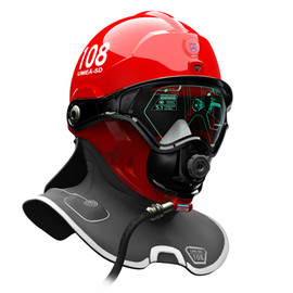 C-thru - Smoke Diving Helmet illustration