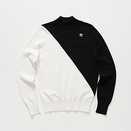 adidas originals by hyke - hy mock neck sweater 002