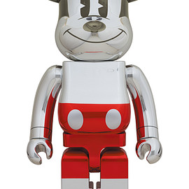 MEDICOM TOY - BE@RBRICK FUTURE MICKEY (2nd COLOR Ver.) 1000%