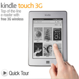Amazon - Kindle Touch 3G