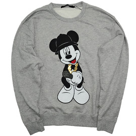 JOYRICH - MC MICKEY CREW SWEAT / H.GRY