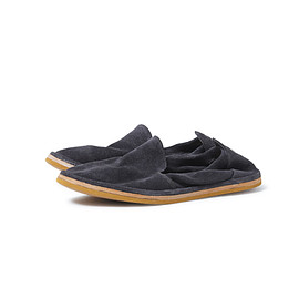 nonnative - TRAVELER SLIP ON GOAT SUEDE by SINGH AND SON
