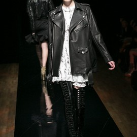 G.V.G.V.×blackmeans - LEATHER RIDERS JACKET
