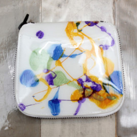 macromauro - HIGH PAINT ROUND WALLET