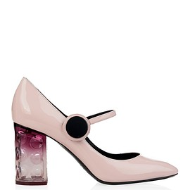 Nicholas Kirkwood - Carnaby patent-leather block-heel pumps