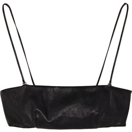 Saint Laurent - Leather Bandeau Top