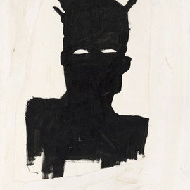 Jean-Michel Basquiat - Self Portrait (Plaid)  1983