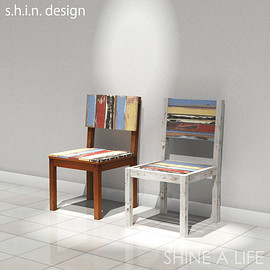 s.h.i.n design - boat chair