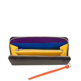 LOEWE - Zip Around Wallet Rainbow Multicolor/Black all