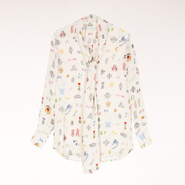Stella McCartney - Dor Monogram Print Shirt