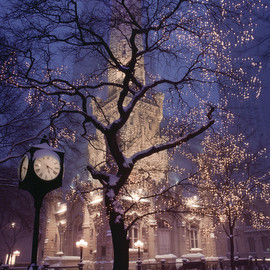 Chicago - Historic Water Tower Park, Chicago, 1989.