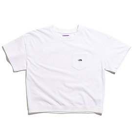 THE NORTH FACE PURPLE LABEL - High Bulky H/S Pocket Tee-White