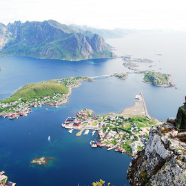 Lofoten, Norway - 'Reinebringen view'
