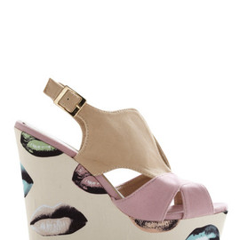 Modcloth - Kicks and Tell Wedge