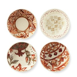 Williams Sonoma - Morocco Tile Individual Bowls, Set of 4