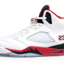 NIKE - AIR JORDAN V RETRO 「FIRE RED」 「MICHAEL JORDAN」 「LIMITED EDITION for NON FUTURE」
