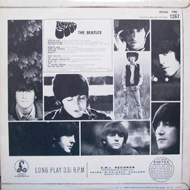 The Beatles - Rubber Soul UK Mono Mat1/1