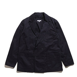 ENGINEERED GARMENTS - DLS Jacket-High Count Twill-Dk.Navy
