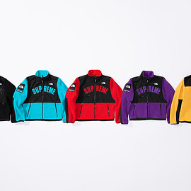 Supreme, THE NORTH FACE - Arc Logo Denali Fleece Jacket