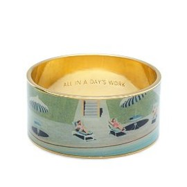 kate spade NEW YORK - ALL IN A DAY'S WORK IDIOM BANGLE