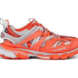 BALENCIAGA - Track Trainer Lands a Blazing Orange and Grey Colorway