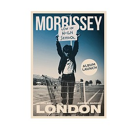 Morrissey - London Event Poster