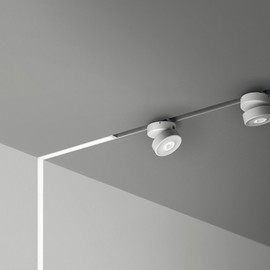 B Light - Innovative Lighting Fixture on a Low-Voltage Power Magnetic Track