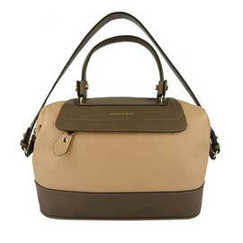 CHARLES&KEITH - Duo-contrast colour handbag