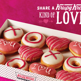 Krispy Kreme Doughnuts UK - The Assorted Dozen - Valentine's Collection - Kind of Love