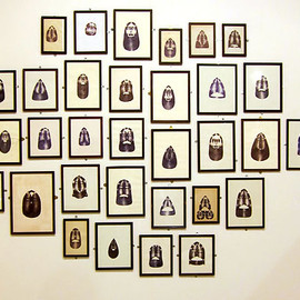 Barry McGee - 2010 multi panel cluster