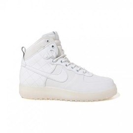 Nike - Air Force 1 Duckboot - White/White