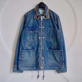 sacai - DENIM JACKET 17-01414M