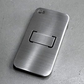 CLAUSTRUM - iPhone4(S)  Holder + Stand