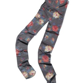 ANREALAGE - ◆LOW PIXEL PRINT TIGHTS